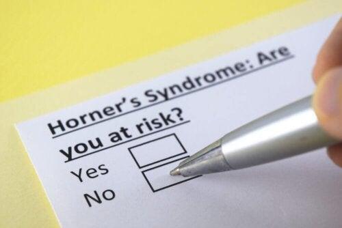 La sindrome di Horner: di cosa si tratta?