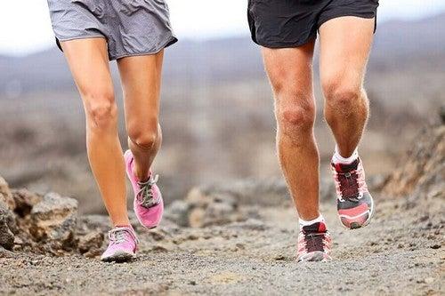 Corsa e trekking