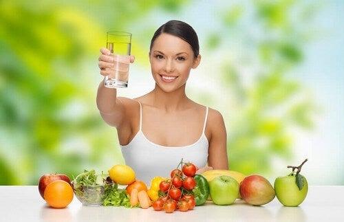 Prevenire la disidratazione: la dieta ideale