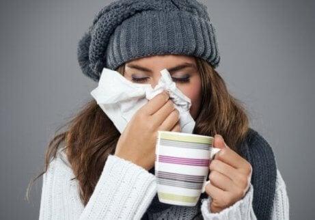 Il raffreddore è una delle malattie quotidiane più diffuse.