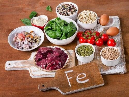 Gli oligoelementi presenti nel cibo.