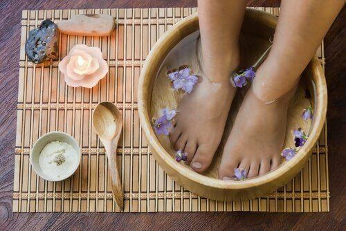 Igiene dei piedi