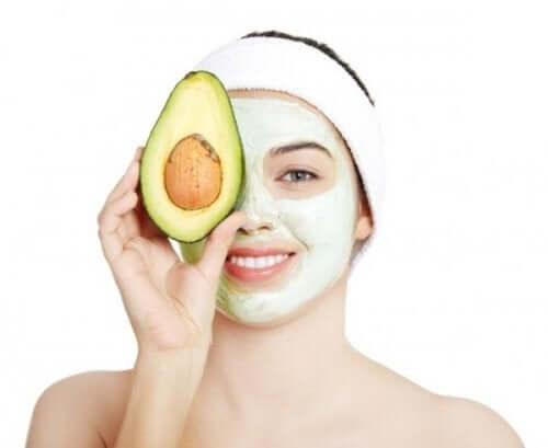 Maschera all'avocado