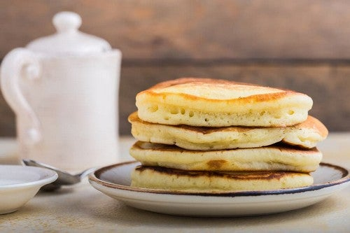 Pancake alla banana: senza glutine e senza lattosio