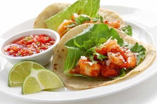 Tacos di gamberetti: 3 deliziose ricette