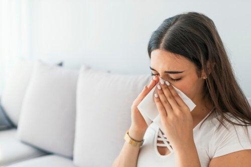 Calmare la sinusite con i rimedi naturali