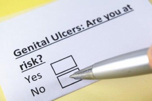 Ulcera genitale