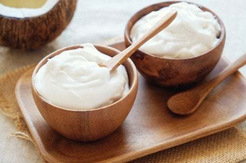 Yogurt per la pelle