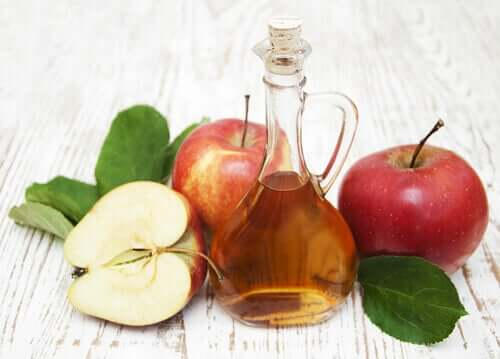 Rimedi naturali contro le formiche a base di aceto di mele.