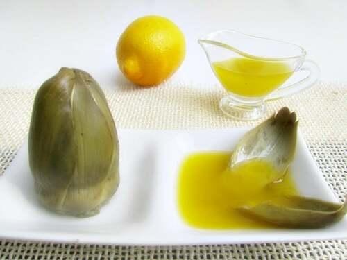 Carciofo con limone per il fegato.