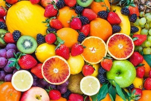 I frutti sono dessert sani.