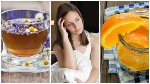 Calmare il nervosismo e l'insonnia con infusi rilassanti
