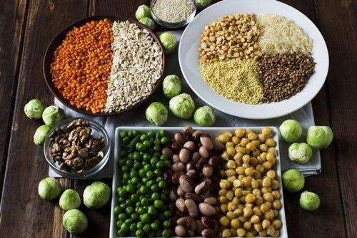 Le proteine vegetali fanno bene alla salute.