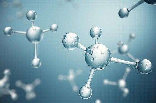 Molecole di collagene nel corpo.