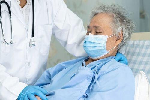 Paziente con patologia infettiva.