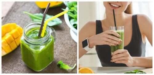 Frullati agli spinaci per perdere peso