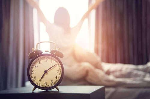 Sveglia presto al mattino.