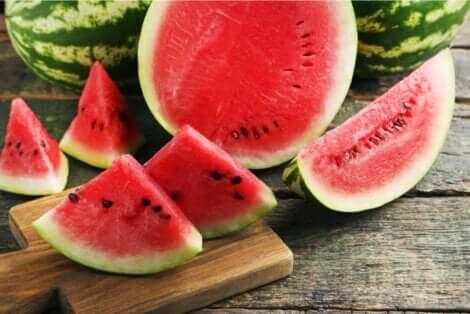 L'anguria può essere considerata il frutto estivo per eccellenza.