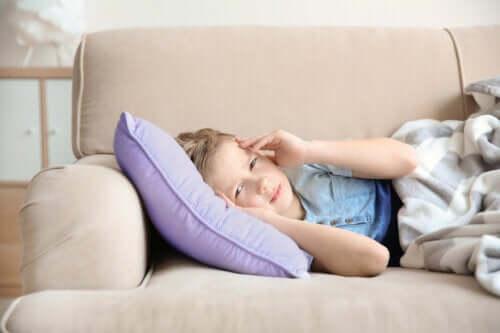 Emicrania nei bambini: sintomi e trattamento