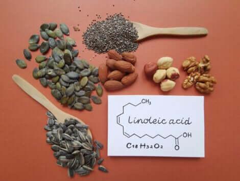 Semi con acido linoleico.