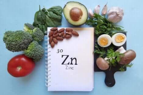 Fonti vegetali di zinco.
