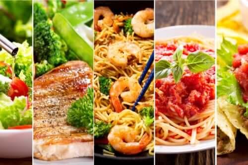Gruppi alimentari e rispettive funzioni