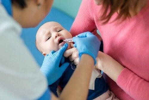 Vaccino contro il poliovirus.