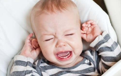 Infezione dell'orecchio nel neonato