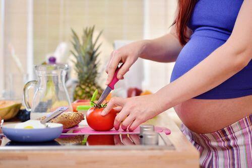 Dieta in gravidanza.