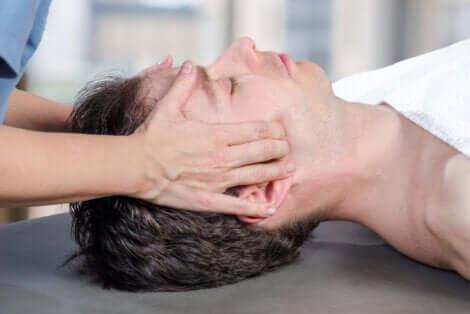 Fisioterapia mandibolare.