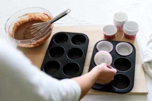 Muffin al cioccolato.