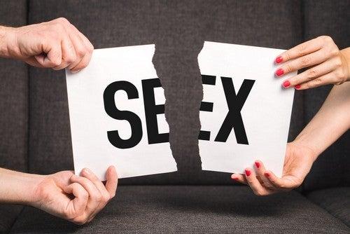Problemi sessuali tra uomo e donna.
