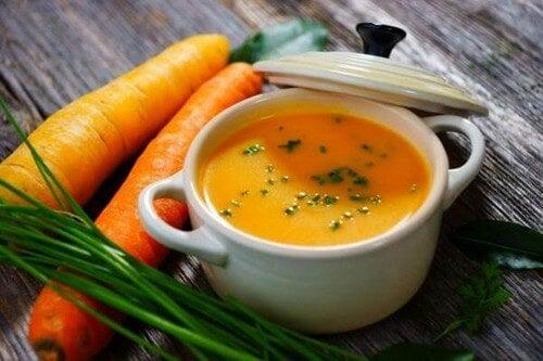 Rimedi a base di carote cotte.