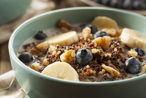 Cereali e fibre alimentari.