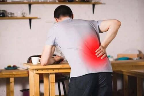 Spondilolistesi: i sintomi più frequenti