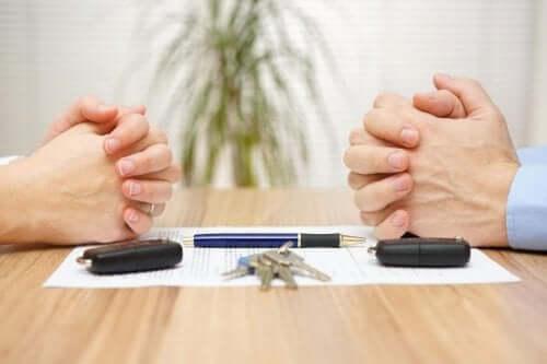 La divisione dei beni in fase di divorzio