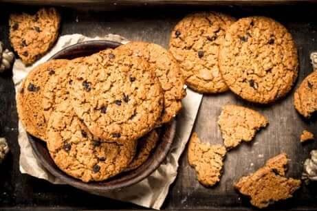 Biscotti all'avena.