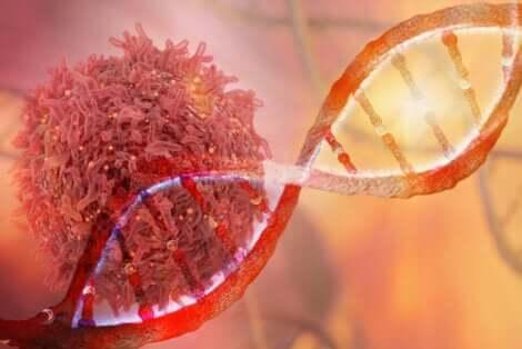 Mutazioni genetiche delle cellule cancerose.