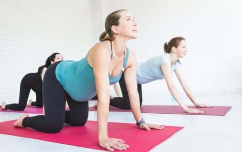Ginnastica per gestanti: esercizi utili durante la gravidanza