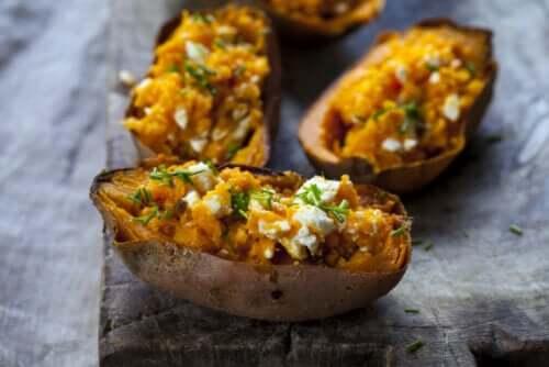 Patata dolce o batata: proprietà e benefici