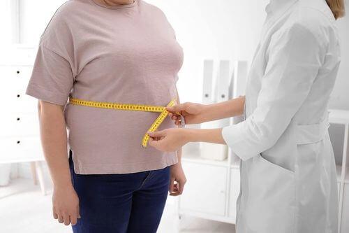 Paziente con obesità.