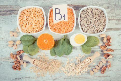 Alimenti che contengono vitamina B1.