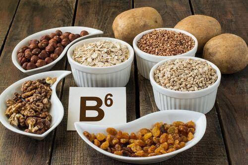 Vitamina B6 tra l vitamine del gruppo B.