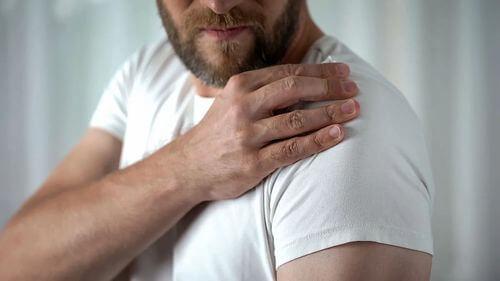Calcificazione della spalla.