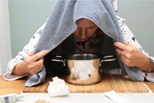 Olio di origano per calmare il raffreddore