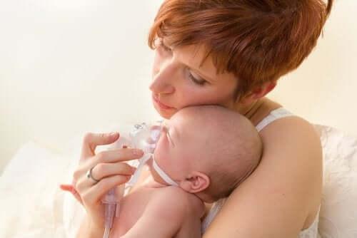 Le malattie respiratorie nel neonato più frequenti