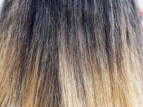 Extension sui capelli.
