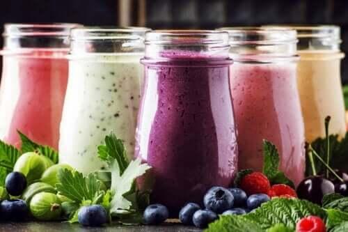 Frullati di frutta e yogurt: perché prepararli?