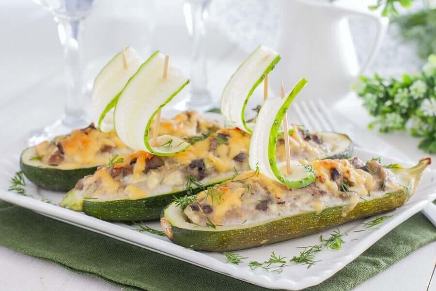 Sandwich di zucchina.