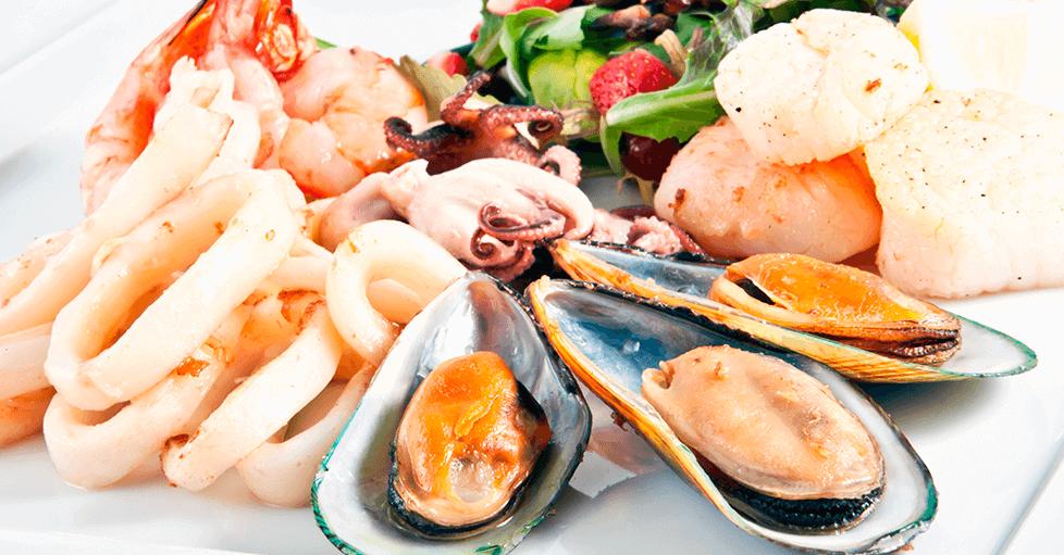 I molluschi sono da evitare nella dieta per i soggetti neutropenici.
